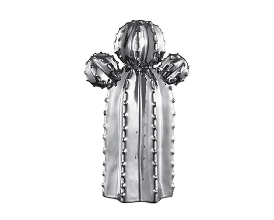 Cacto em Cerâmica Prata I