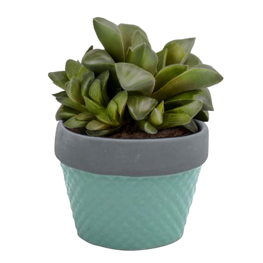 Mini cachepot verde 6cm x 8cm