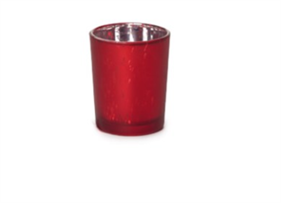 Castiçal Vermelho 7 CM