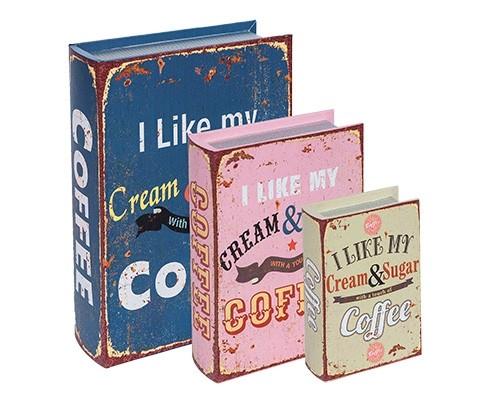Caixa Livro Coffee