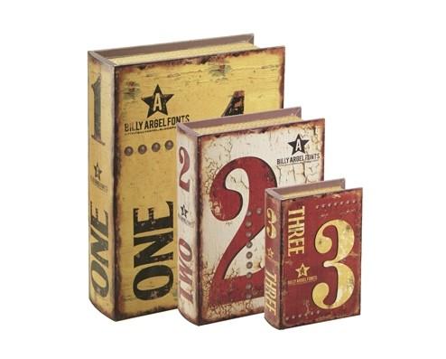 Caixa Livro 1 2 3