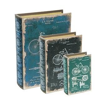 Caixas Livro Bicicleta