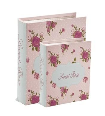 Caixa Livro Sweet Rose