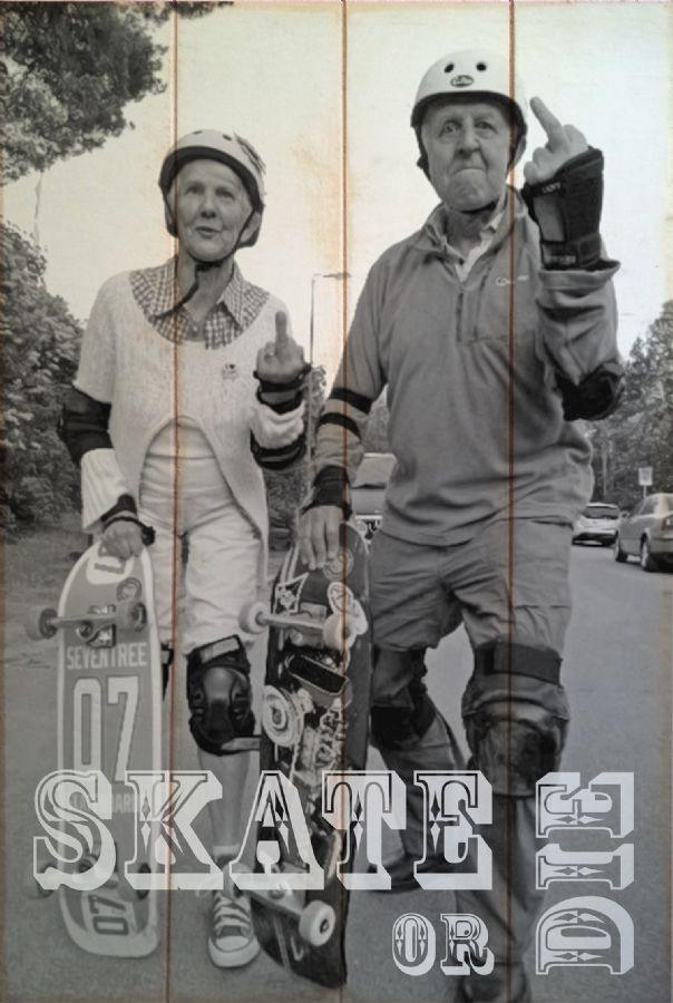 Quadro Skate or Die