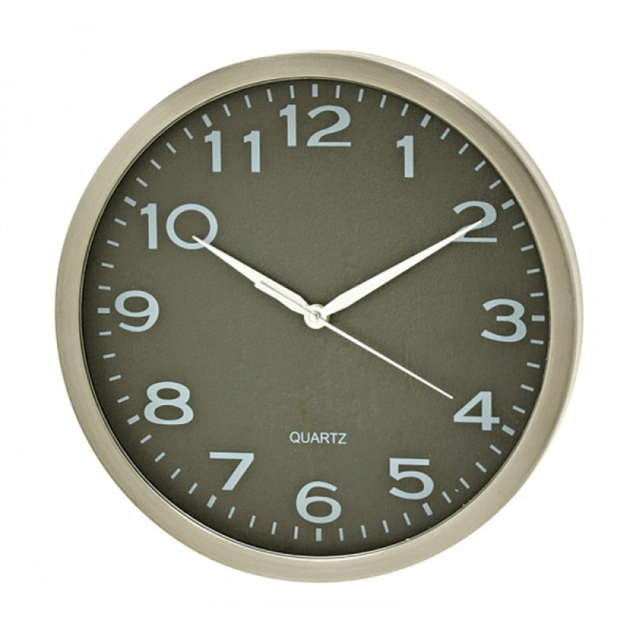 Relógio de Parede Alumínio 30,5CM