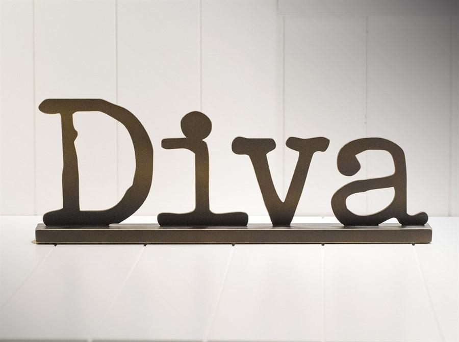 Placa de mesa Diva 45x16cm