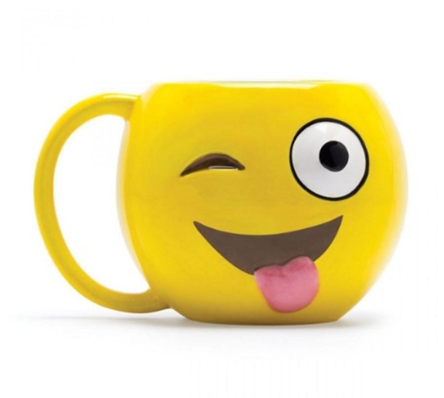 Caneca Emoji Língua 500ml