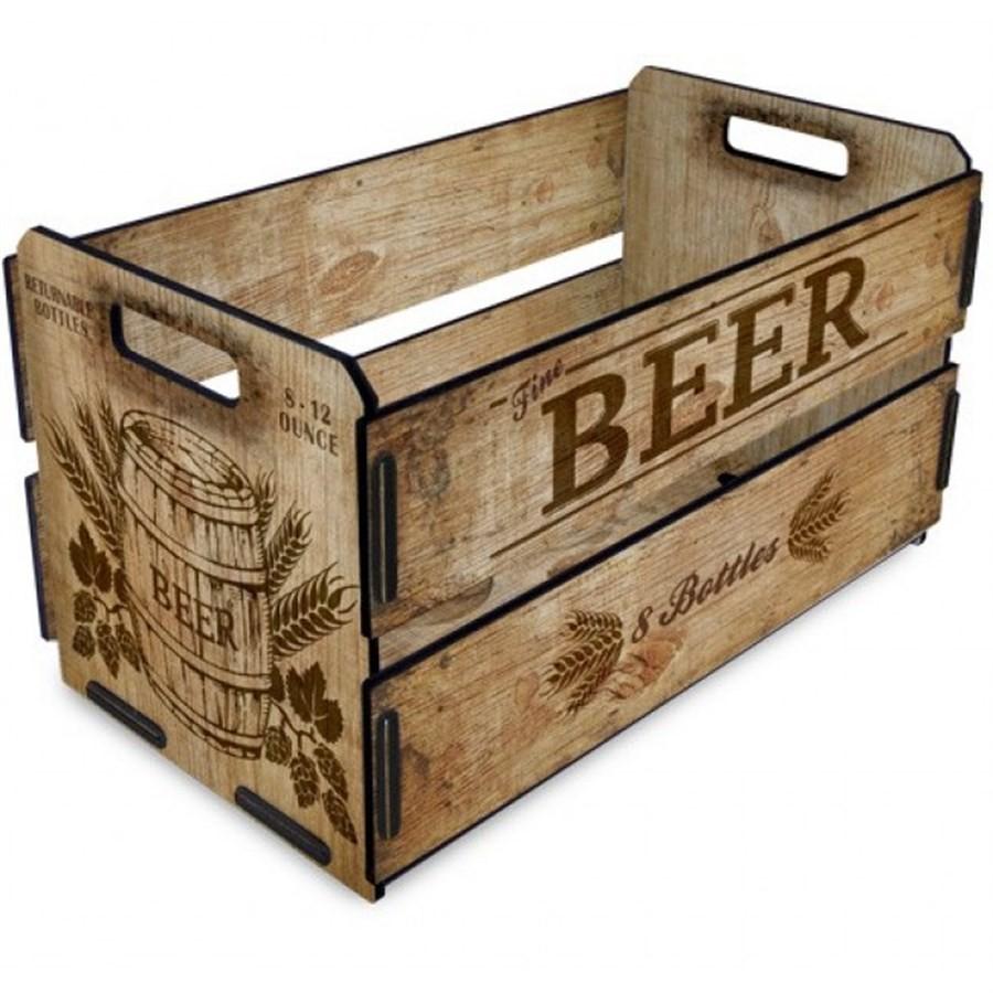 Caixote de Madeira Beer