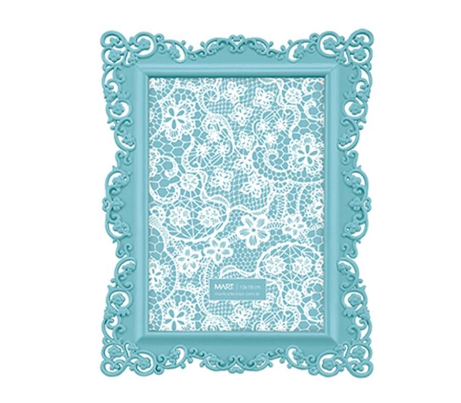 Porta Retrato Azul Candy 13x18cm