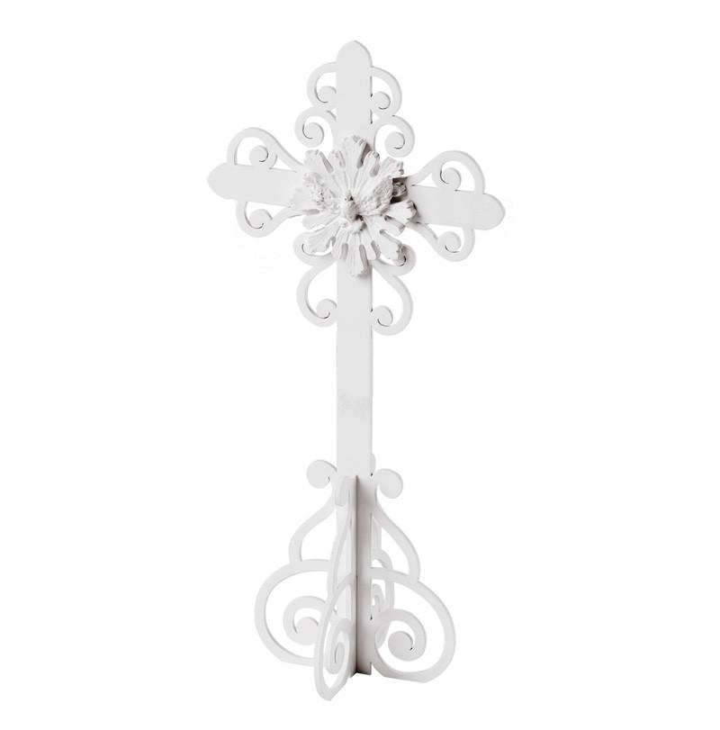Crucifixo Victorine Branco