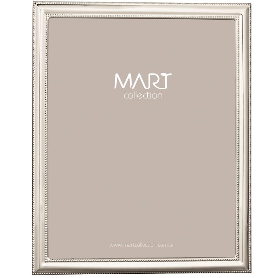 Porta-Retrato Metal Prata III 15x20cm