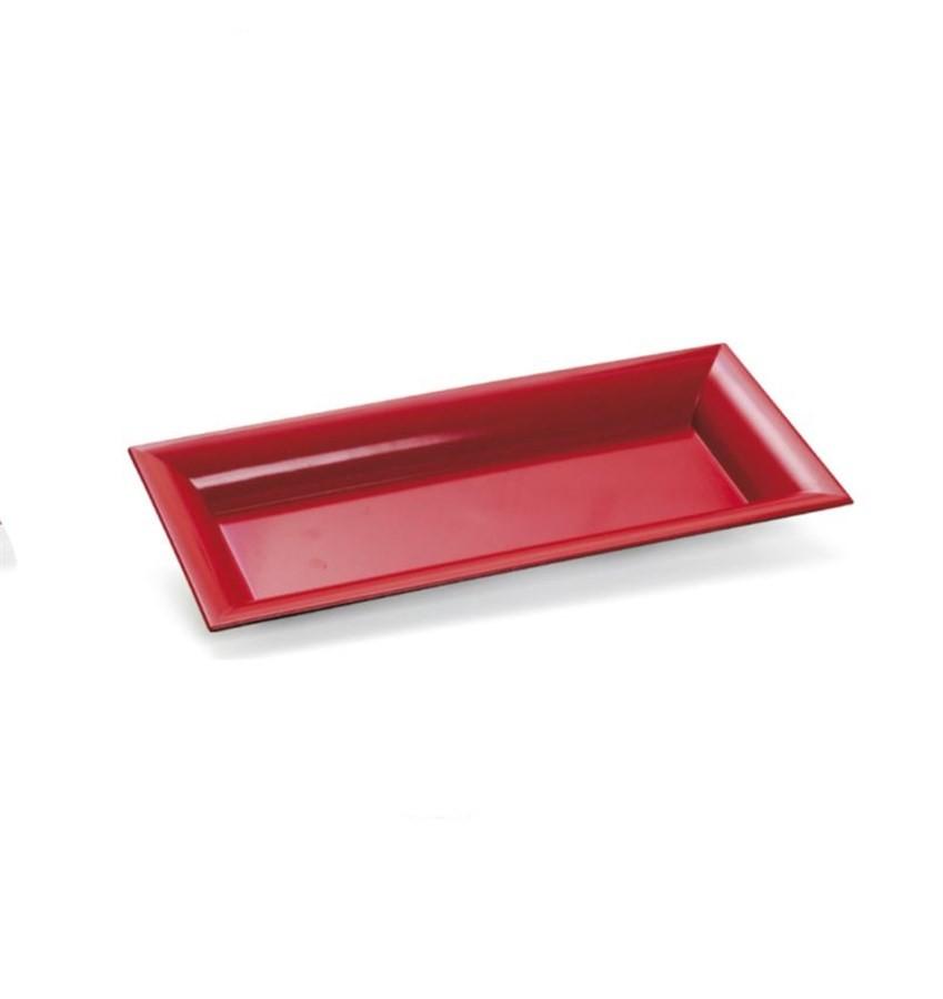 Bandeja Vermelha 29x13cm