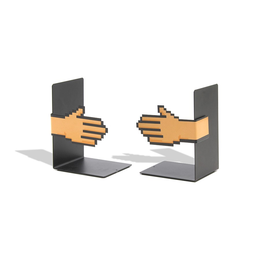 Aparador Livros Imantado Mãos Pixel