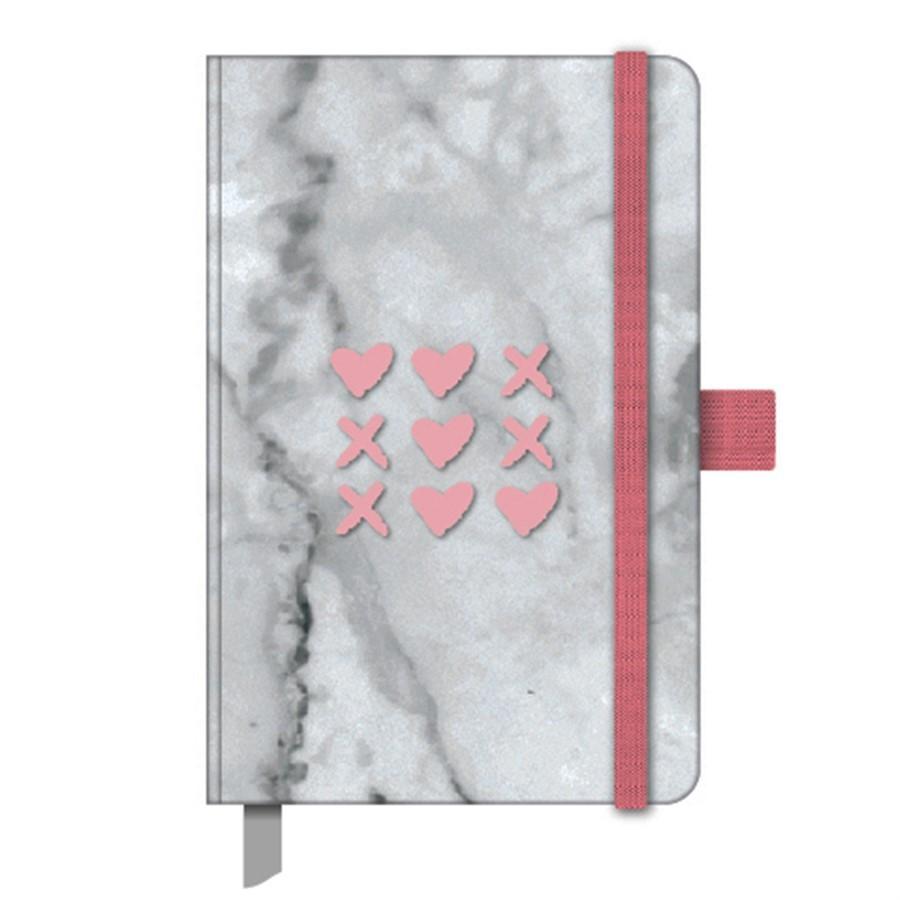 Caderno PinkStone PaperTalk Com Pauta