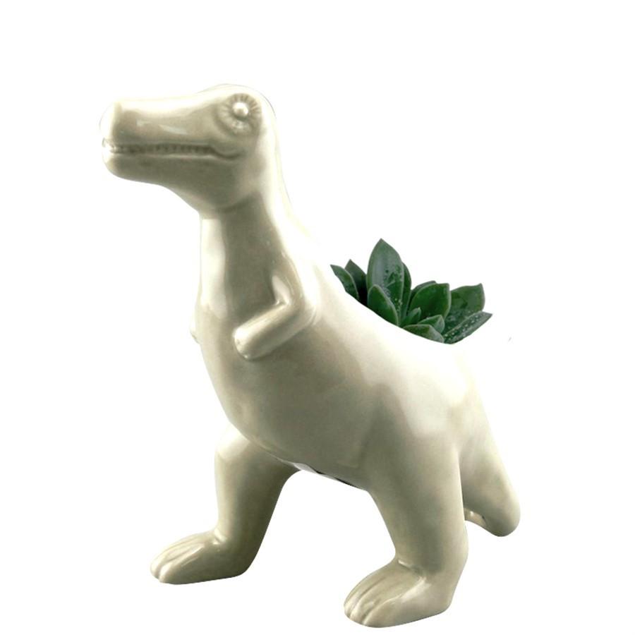 Cachepot Cerâmica Allosaurus Rex
