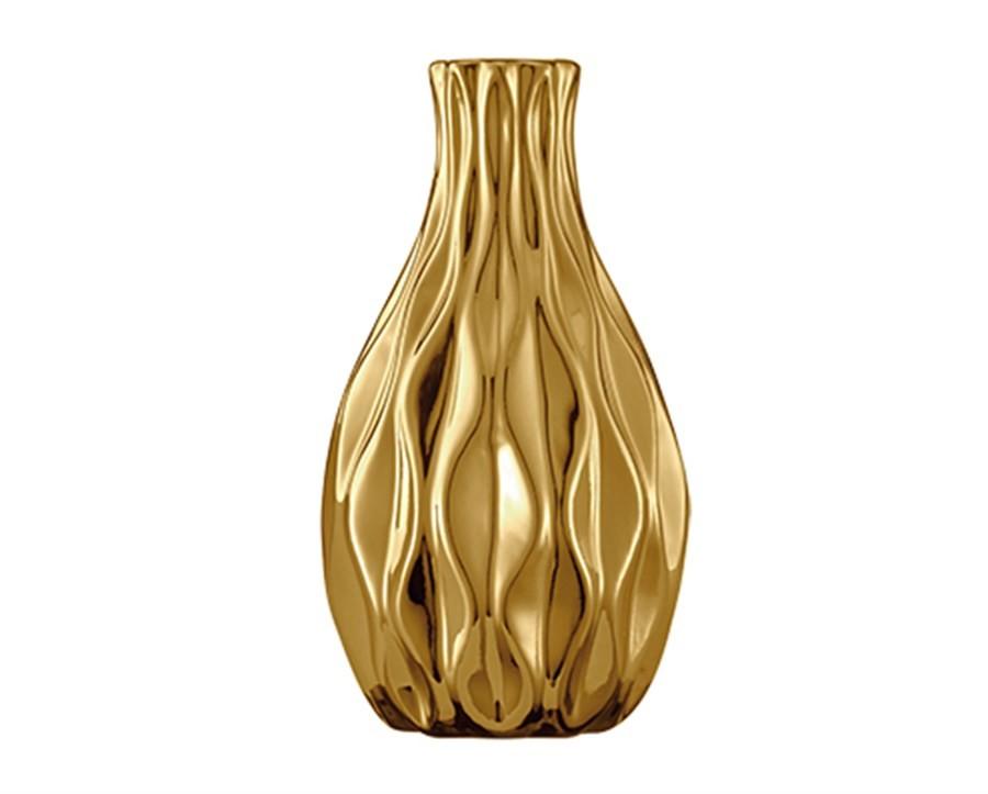 Vaso Dourado 6x12cm