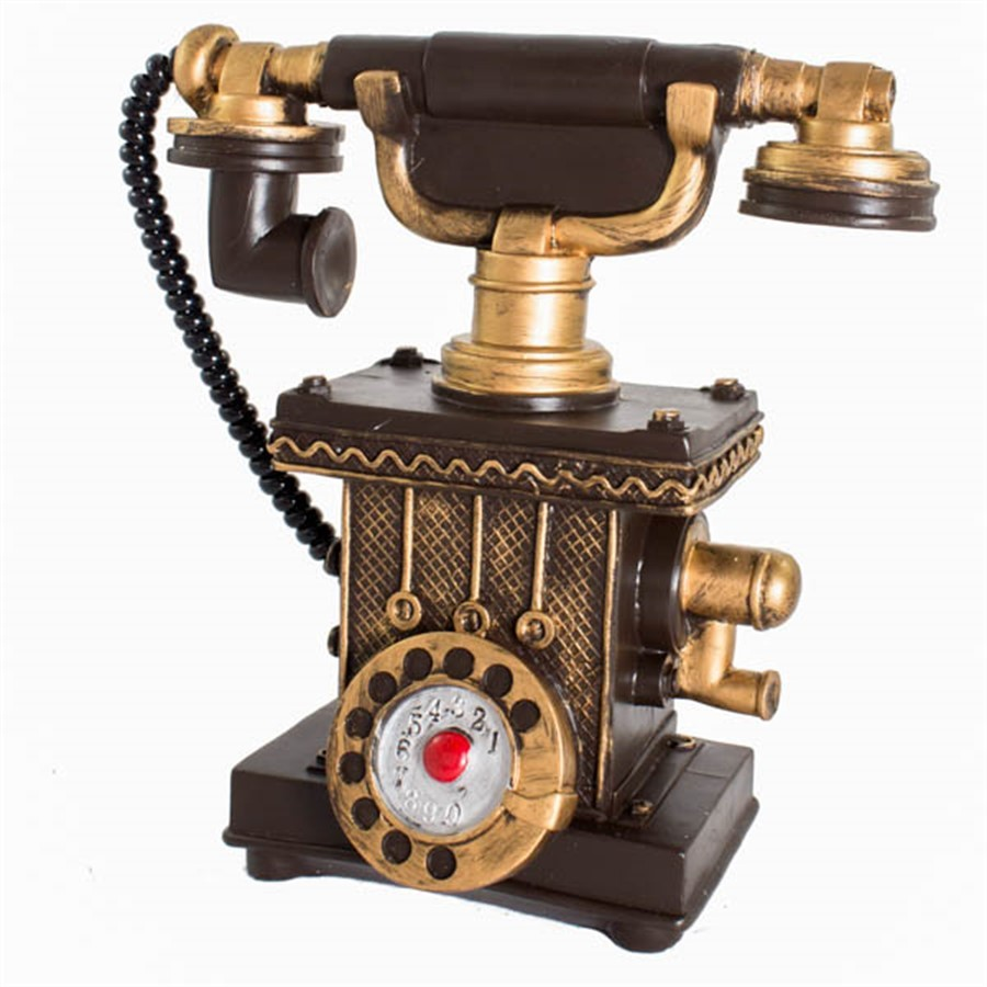 Cofre Telefone de Resina