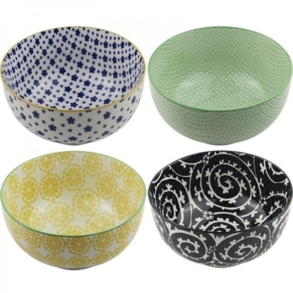 Conjunto de 4 Bowls Coloridas - Média