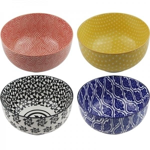 Conjunto de 4 Bowls Coloridas - Médio