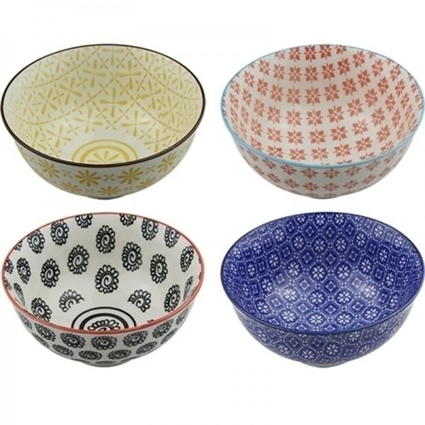 Conjunto de 4 Bowls Coloridas - Pequeno