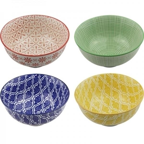 Conjunto de 4 Bowls Coloridas - Pequena