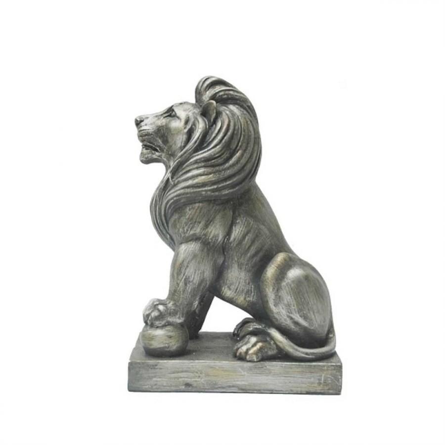 Leão Decorativo de Resina