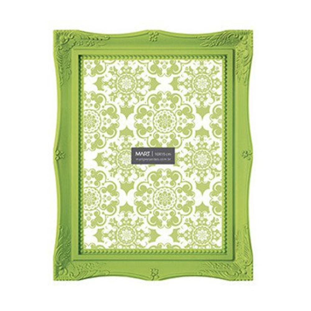 Porta Retrato Retrô Verde 20x25cm