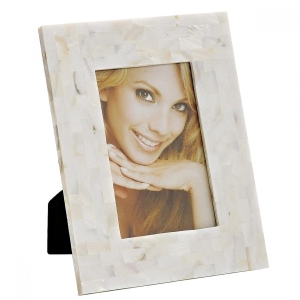 Porta Retrato Moldura Madrepérola 13x18cm