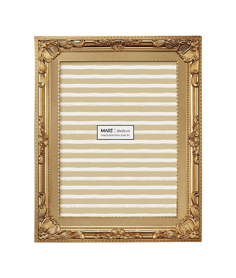 Porta Retrato Retrô Cobre 20x25cm