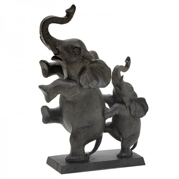 Escultura Decorativa Elefantes I