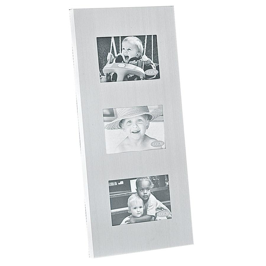 Porta Retrato Alumínio Vertical 6x9cm