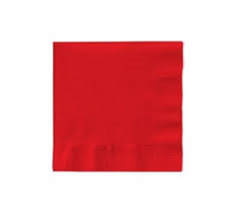 Guardanapo Liso Vermelho