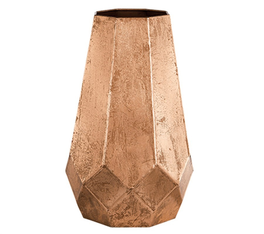Vaso Metal Cobre 32cm