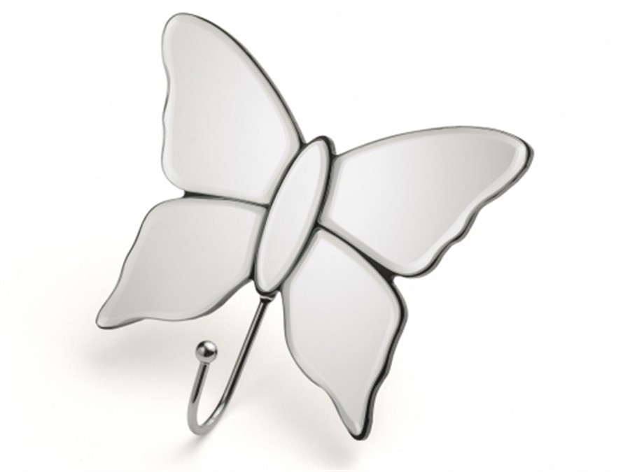 Cabideiro Espelhado Butterfly