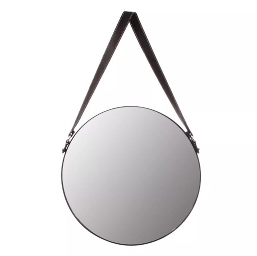 Espelho de Parede Metal C/Alça 40 x40cm