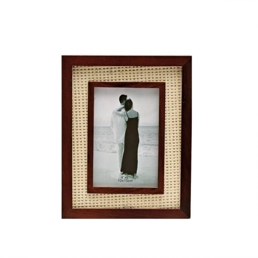 Porta Retrato Madeira 10x15cm