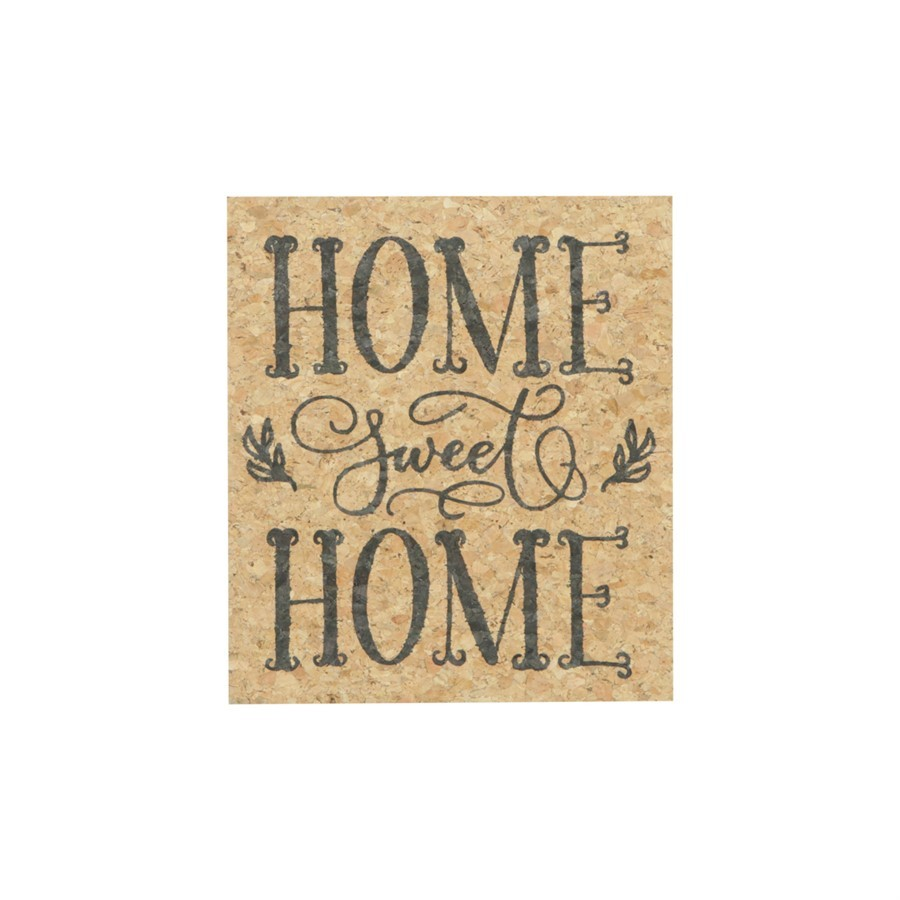 Quadro Home Sweet Home 20x23cm