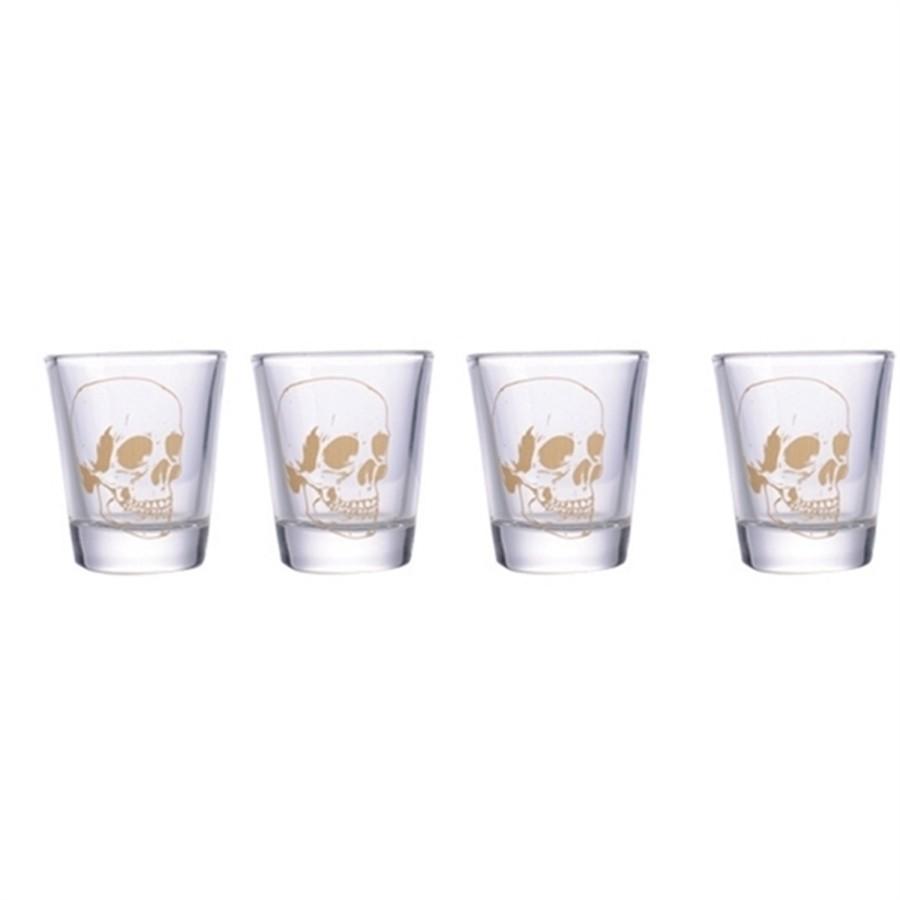 Conjunto de Copos de Tequila 50 ml Caveira