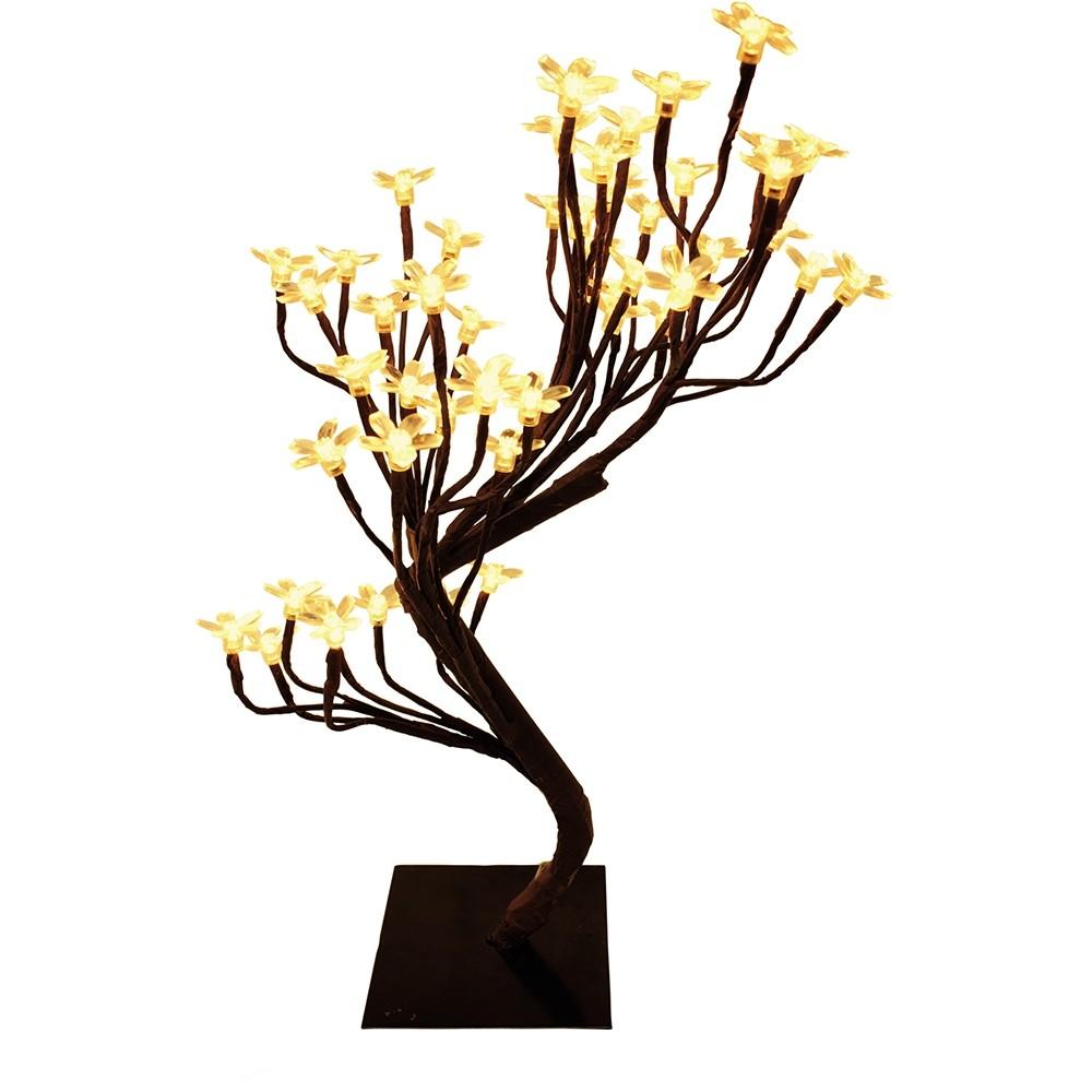 Árvore Com Flores de LED