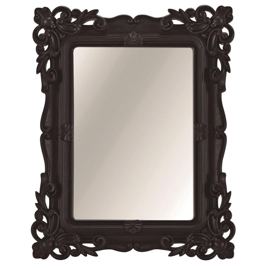 Espelho Rococó de Mesa Preto 10x15