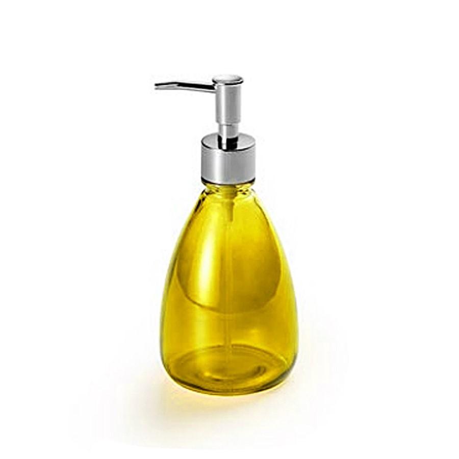 Porta Sabonete Liquido Amarelo 410ml