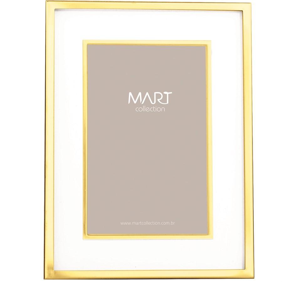 Porta-Retrato Metal Gold VI 10x15cm