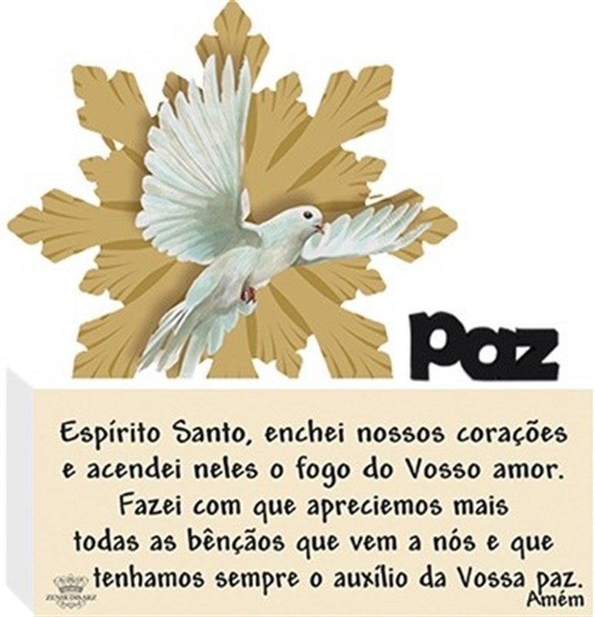 Quadro Bloco Paz Espirito Santo..