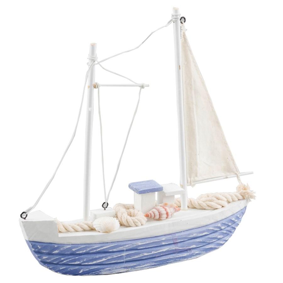 Barco Veleiro Decorativo