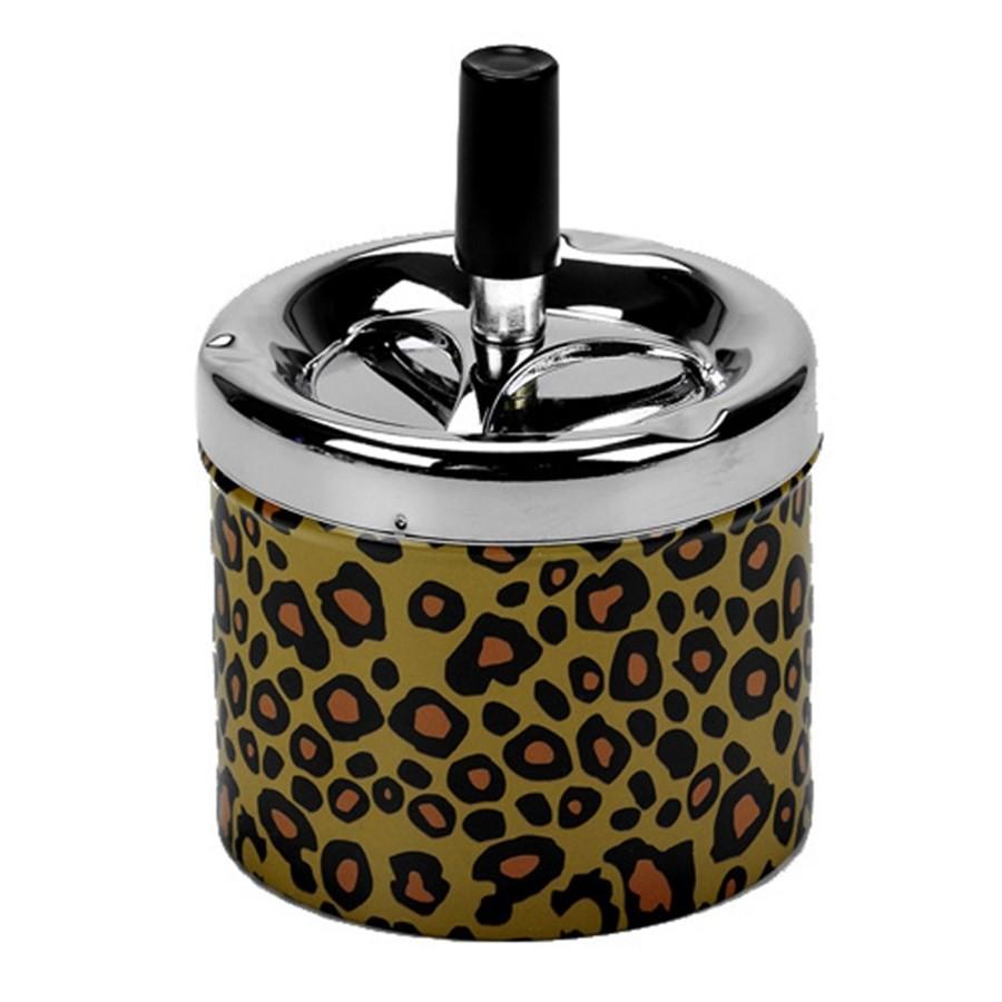 Cinzeiro Retrô Leopardo