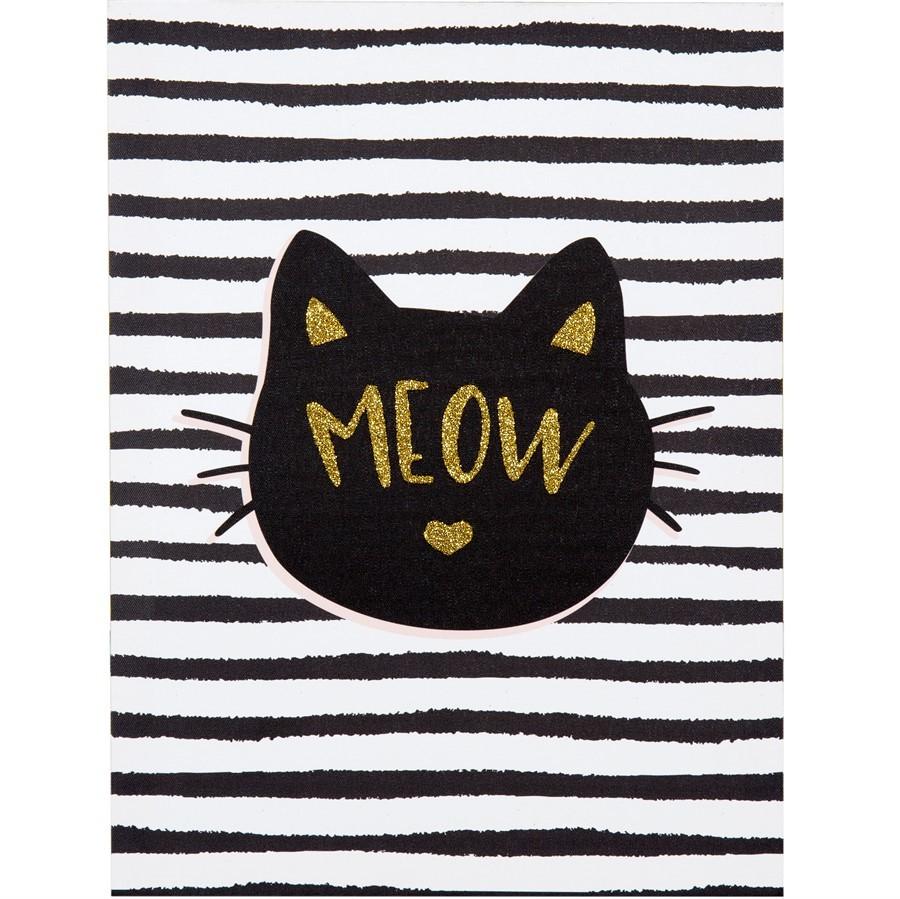 Quadro Meow 40x30cm