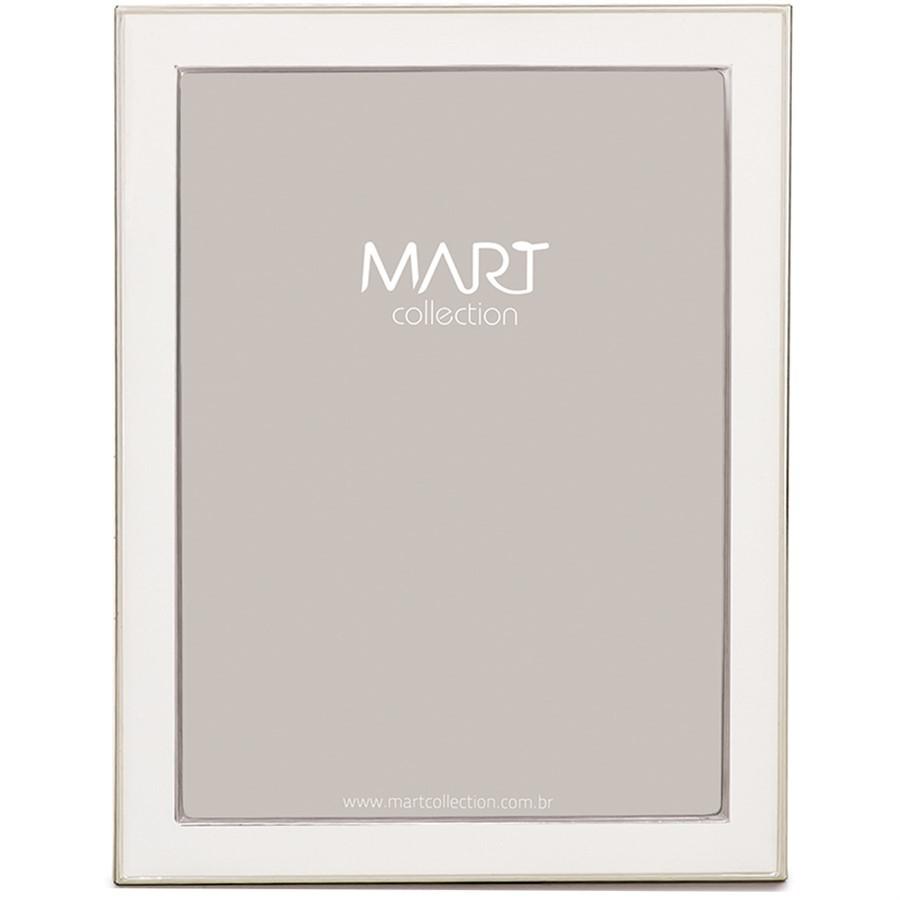 Porta Retrato White Metal 15x20cm