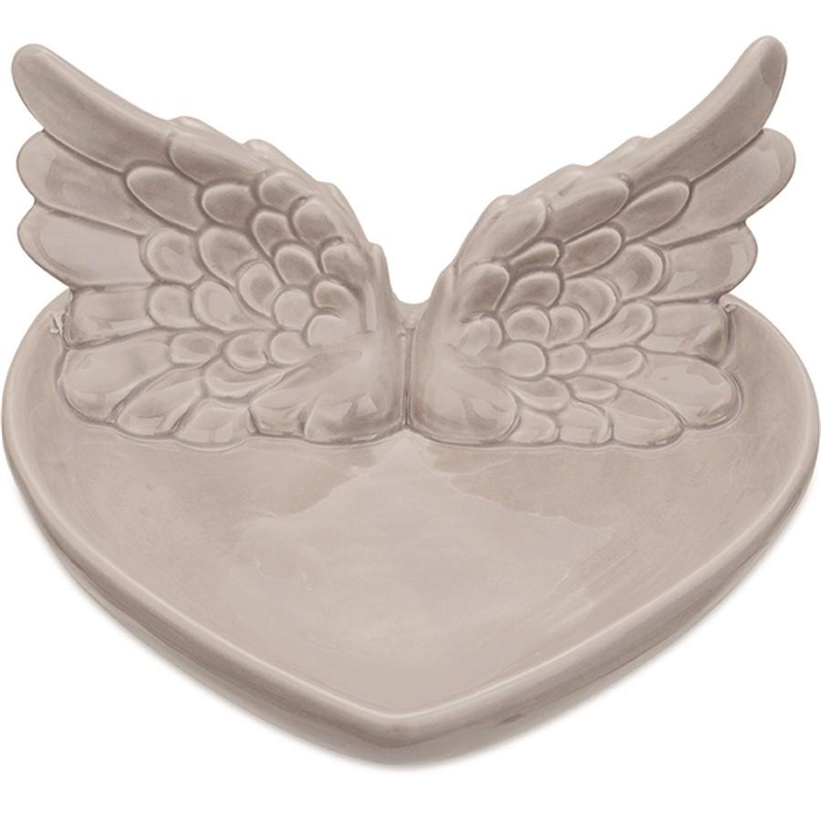 Porta bijoux Asas Cinza G