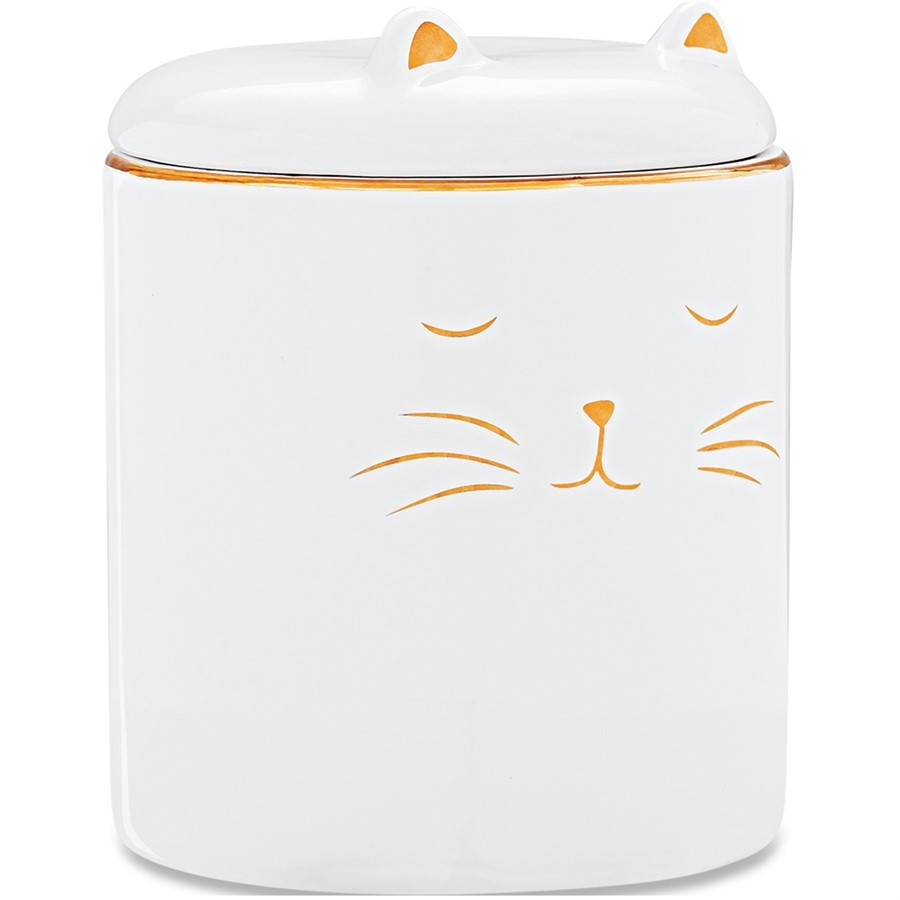 Pote Gato em Cerâmica 11x9cm