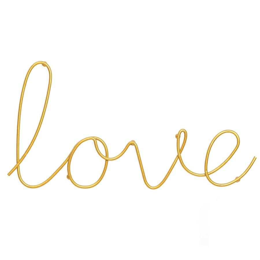 Love Dourado Metal